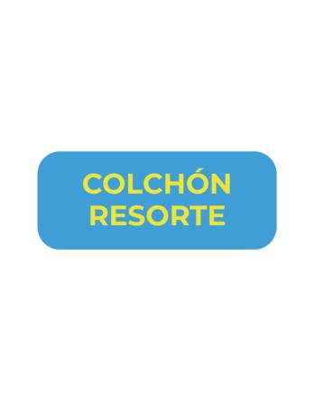 COLCHONES RESORTE
